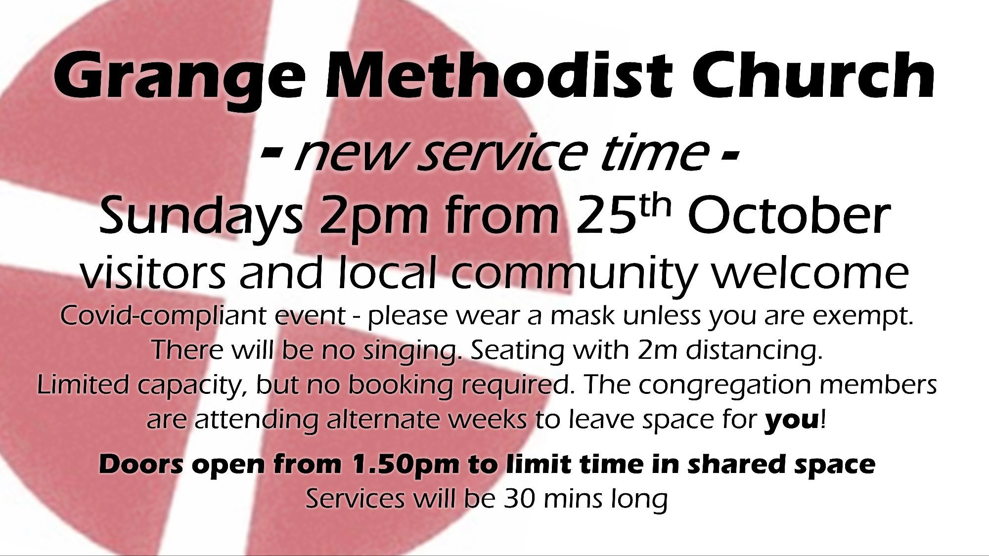 Update showing live services at 2pm from 251020