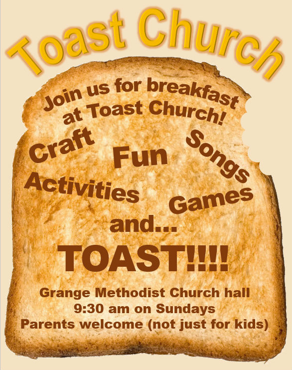 Toast Church poster