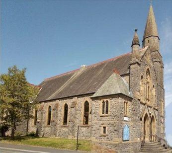 Ulverston Church exterior