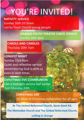 list of Christmas services