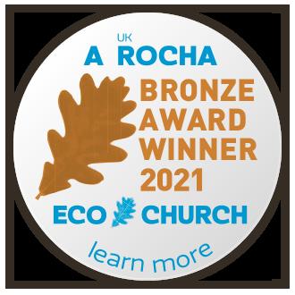 Bronze EcoChurch badge