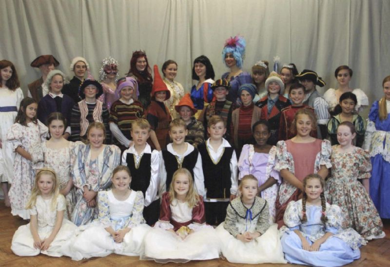 Youth Theatre cast for Snow White