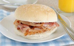 bacon cob