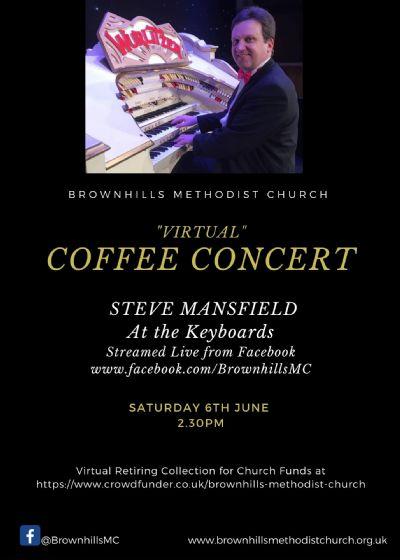 Steve Mansfield Virtual Concert