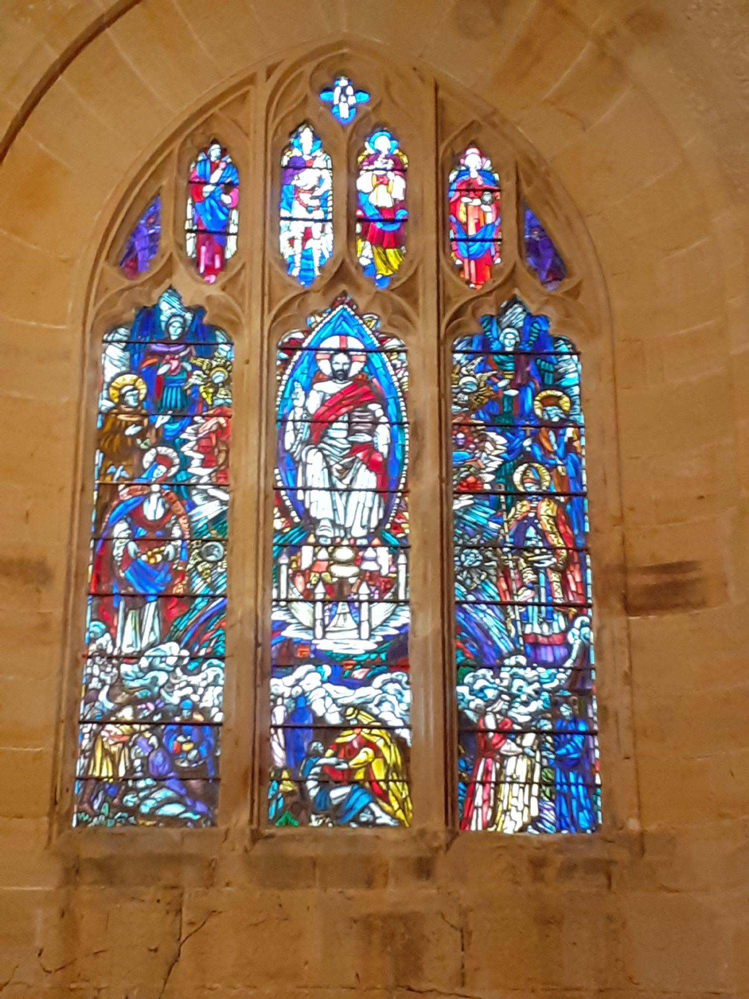 West window by Rosemary Everett