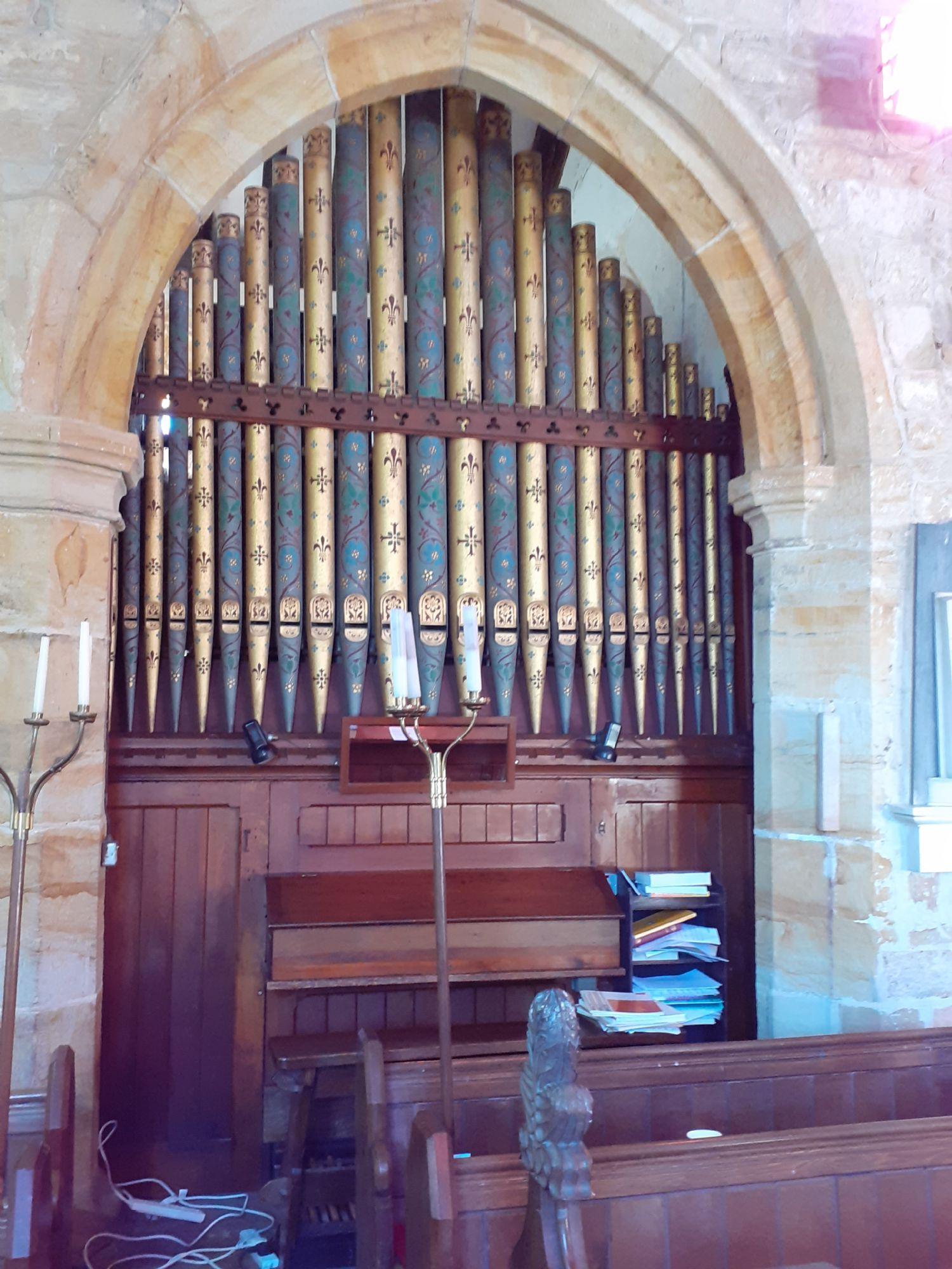 1837 Hill & Sons organ