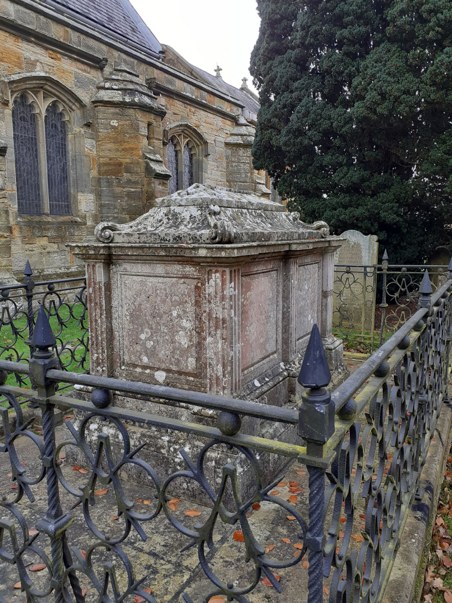 Austen family tomb