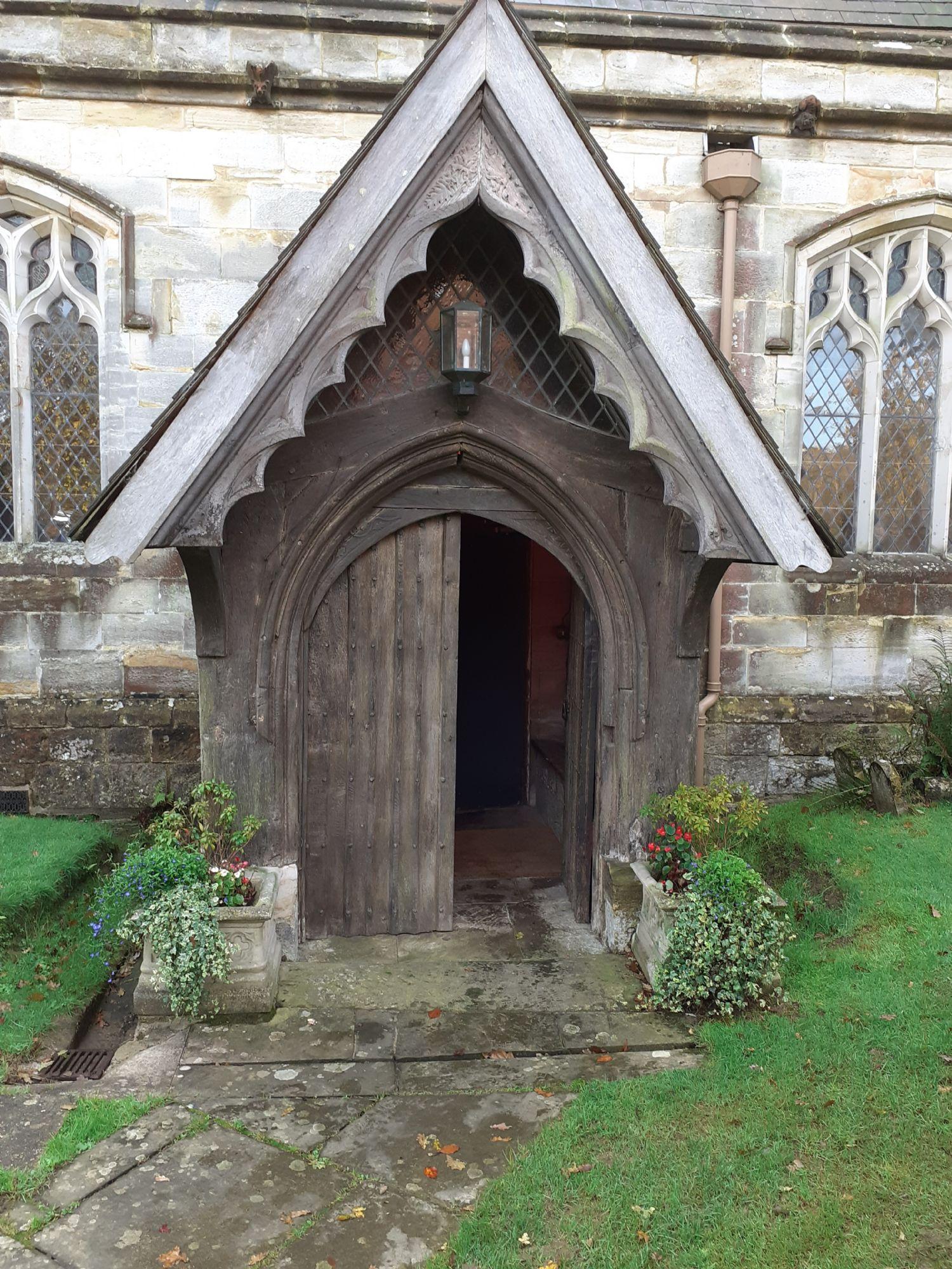 15th Century Church Porch