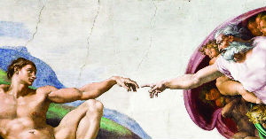 God and Adam - in Relationship