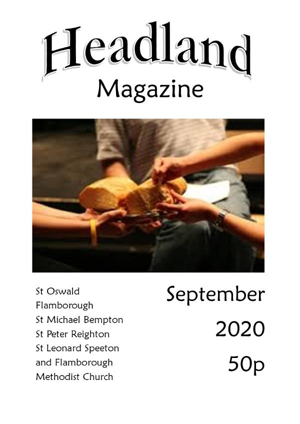 Sep 2020 magazine cover