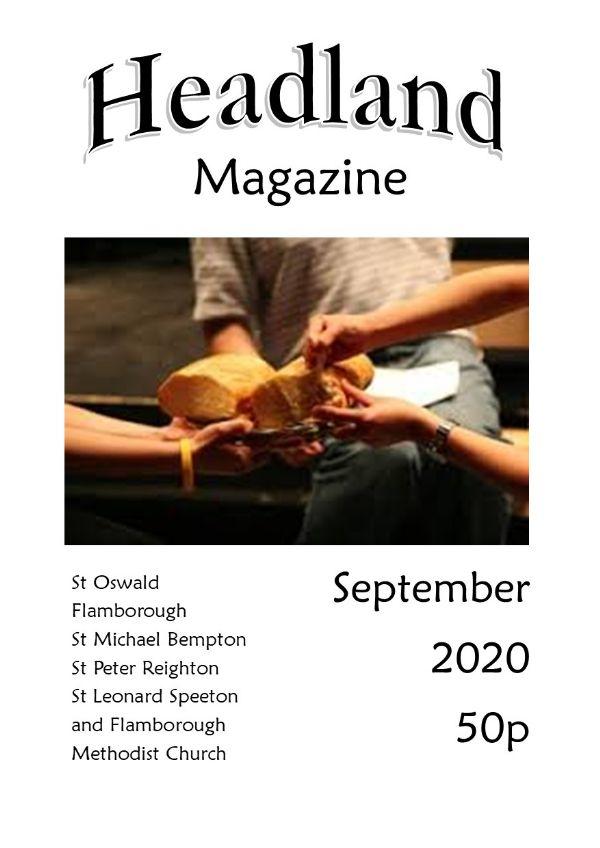Sep 2020 magazine cover