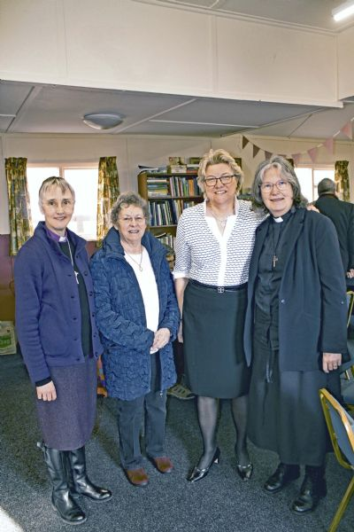 Jean Hesketh and Jane Emmerson were confirmed by Bishop Alison of Hull on 23rd February 2020