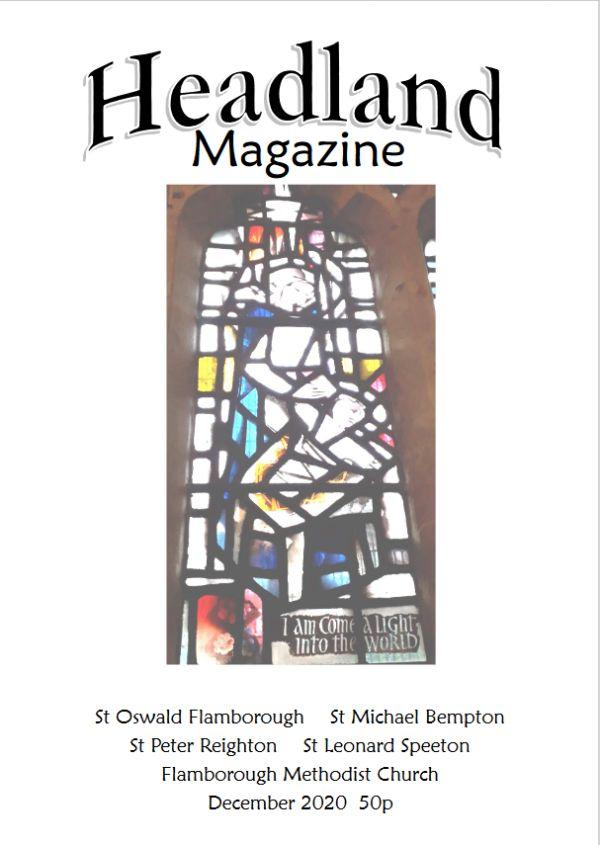 Magazine front page Dec 2020