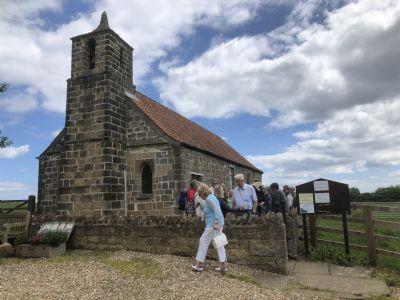 Pilgrims at St Leonard's