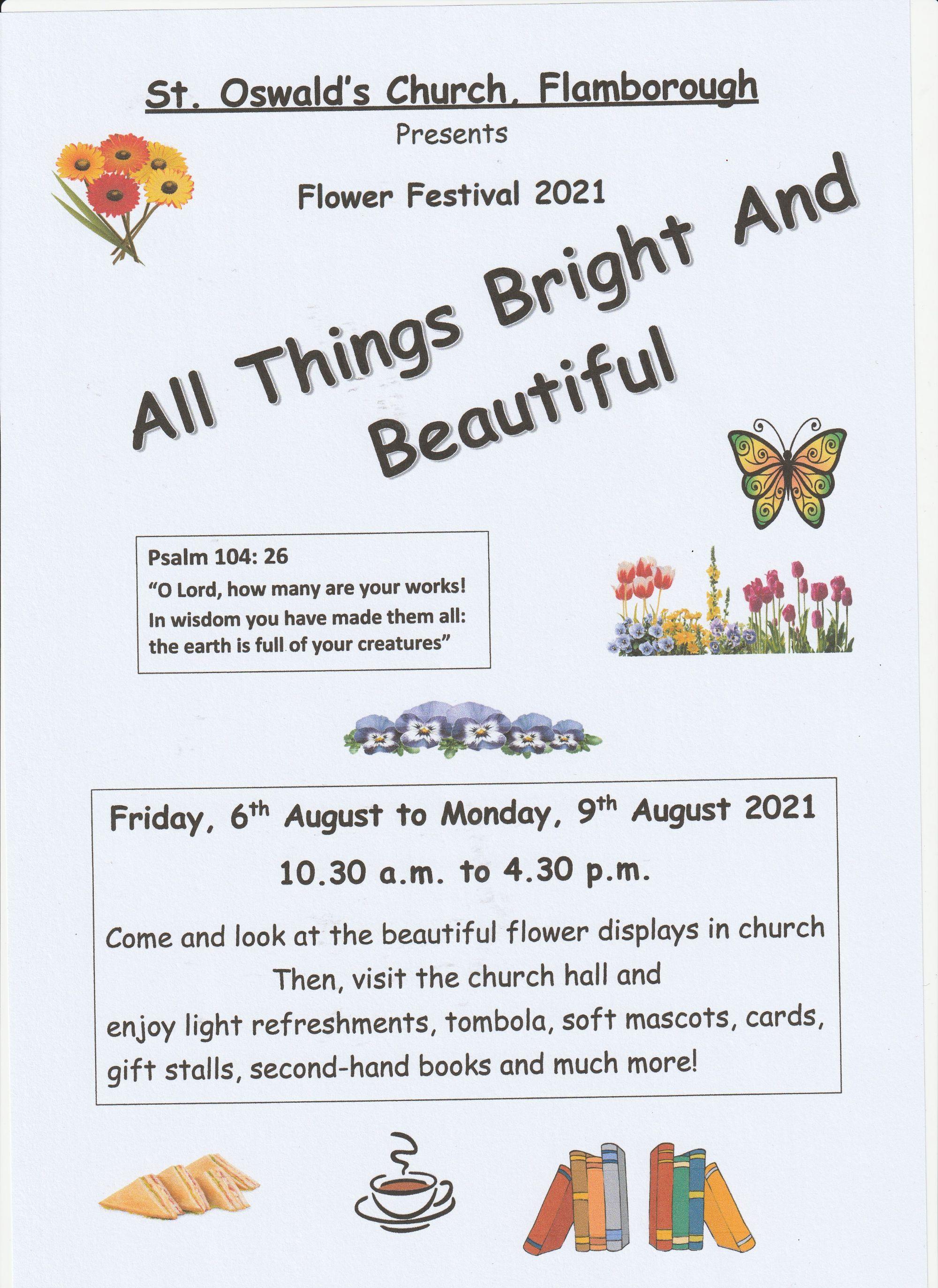 St Oswald's Flower Festival