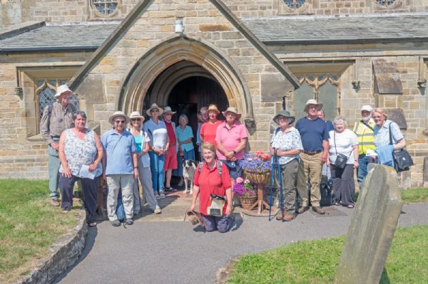Pilgrims at St Michael's, Bempton
