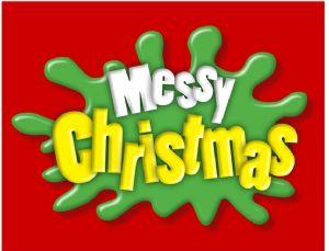 Messy design Christmas