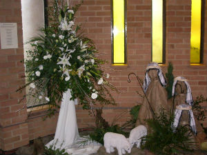 Flower Festival 5 Advent 2015