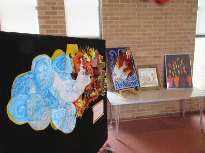 Pentecost Festival artwork displays 1