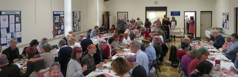 St Andrews Church Christmas lunch 2016