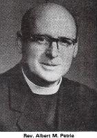 Rev Albert Petrie