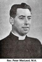 Rev Peter McLeod
