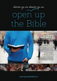 Open the Bible Booklet