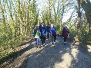 HMC Walking to Willastom