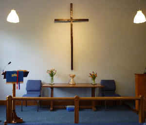 Weybourne chapel - communion rail