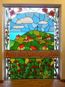 Side Chapel -  Poppy Room - Window