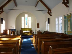 West Runton - Chapel inside