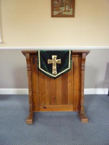 Gresham Chapel - pulpit 2