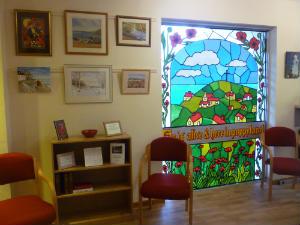 Side Chapel - Poppy Room - Art work
