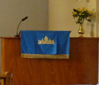 Weybourne Chapel - pulpit cloth