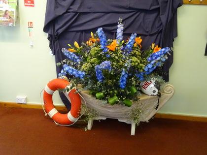 Flower Festival - I am a Lifeboat Crew Member