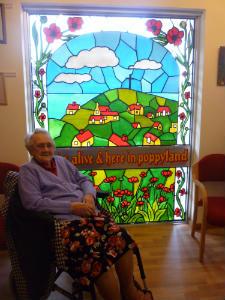 Side Chapel -  Poppy Room -Doris  Window