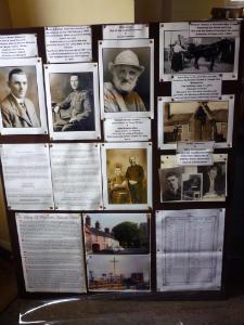Weybourne Chapel - history board