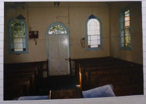 Gresham Chapel - old inside