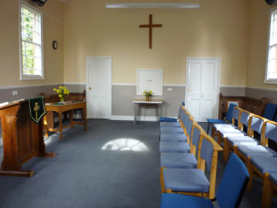 Gresham Chapel - inside 1
