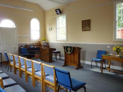 Gresham Chapel - interior 2