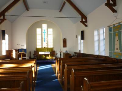 West Runton chapel - interior