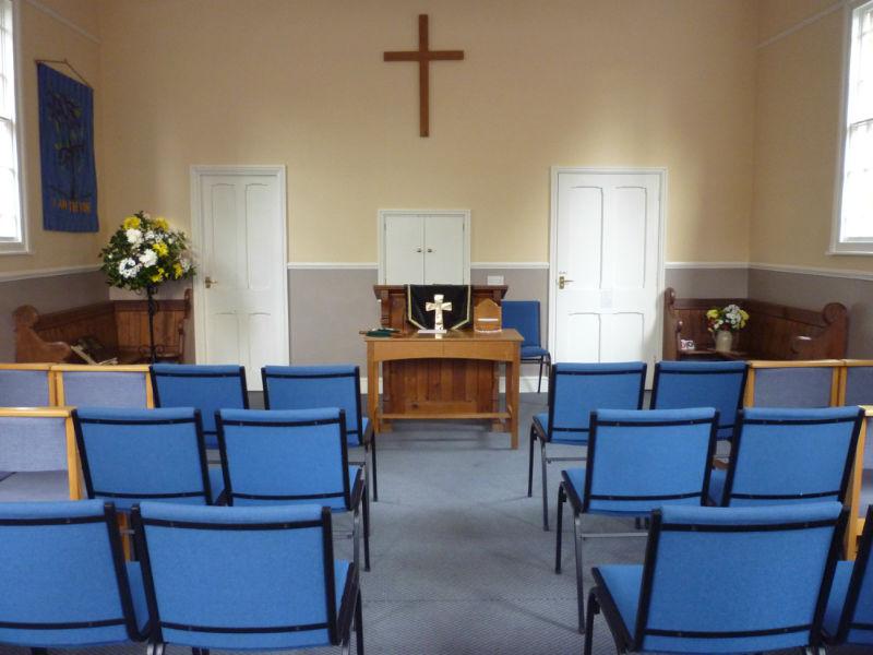 Gresham chapel interior