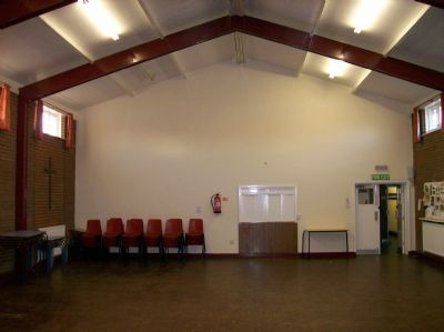 Church Hall view from Stage