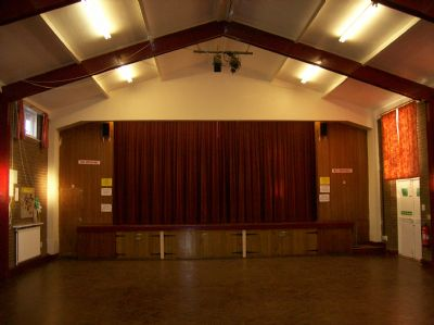 Church Hall facing Stage