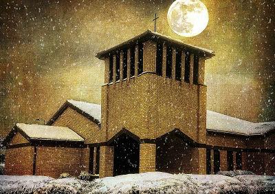 St Jo in snow
