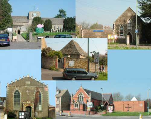 5 church buildings from Faringdon