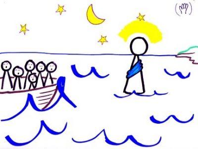 JC Walks on Water