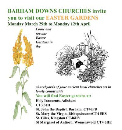 Easter Garden Poster 2021