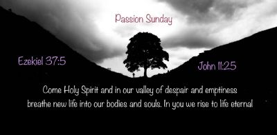 Passion Sunday 2020