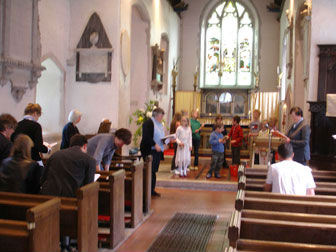 A Family Communion in Kingston church